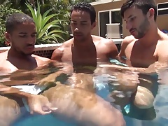 Bareback - Hot Tub 3 Way