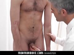 MormonBoyz- Missionary boy fucked bareback by Mormon daddy