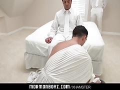 MormonBoyz-Older Mormon stud passionate love making with you