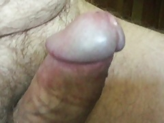mature exhibitionist - erection close-up  and cum