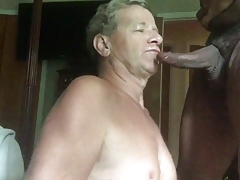 BIG Black Cock Serves Me Cum For Breakfast!