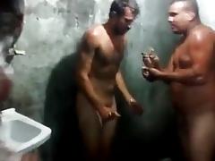 Caught - Brazilian mechanics playing in the shower