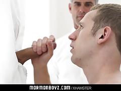 Mormonboyz - Blonde hunk services anonymous cock
