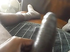 MY HARD THICK BLACK MEAT...