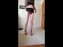 Sexy new lace skirt a bit seethrough