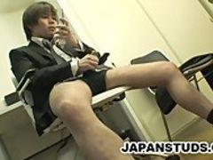 Hiroki Nishi: Porn Addicted Japan Dude Masturbating