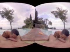 VirtualRealGay.com - Fucking at the pool