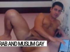 Arab gay macho slut: superbe Lebanese hot stud, ready for sex