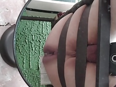 Dripping hot yummy creamy cock milk out my asspussy.