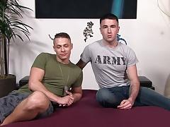 ActiveDuty Army Bro Slammed in Raw Hole