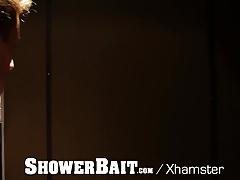 ShowerBait Str8 Jackson Cooper shower fucked