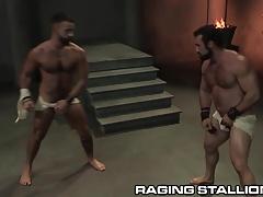RagingStallion Jaxton Wheeler Thrusts Cock in Hairy Hole