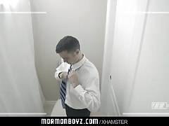 Mormonboyz - Clean-cut Mormon boy barebacked in church