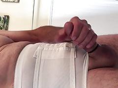Purple cock panty