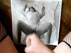 cum tribute on strangers wife big tits