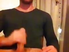 Sexy Guy Jerks & Cums