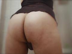 Ass tease