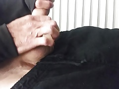 Horny cock pump session