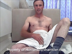 Fingers and fucks ass with cucumber Hotstar4u