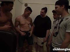 GayBangBoys Orgy Party part 1
