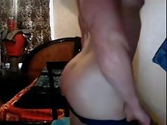 Serge Henir Bodybuilder jerkoff 2