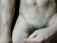 asian hunk JO on table (47'')