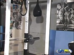 Gym Guys Blowjob Antics