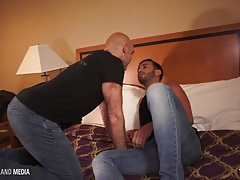 Latin stud deep breeds dad's ass
