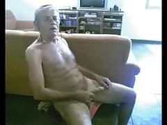 Grandad has a Real Good Wank