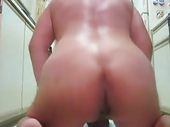 Big dildo fuck gay ass