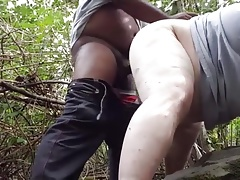 A Black Takes Me in the Woods