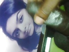 Cum tribute to young beauty Shrutika Shinde