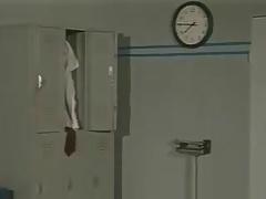 Locker room sex