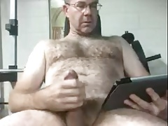 dad cums thinking about his wife
