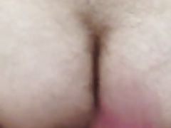 Raw cock fucking my hairy hole