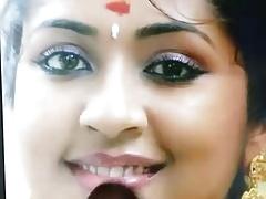Navya Nair birthday spit and cum tribute