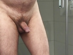 mature exhibitionist - showing my cock