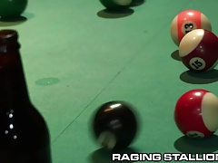 Poolhall Daddy and Leather Hunk Take Turns on Top