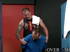 Dustin Steele and big dick Max Cameron working that ass