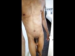 naked in the garden flashing voyeur