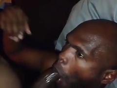 Ebony Cock sucking