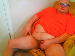 Jerking Off In Chair