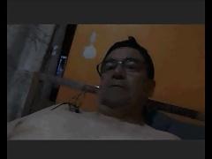 chilean daddy wanking