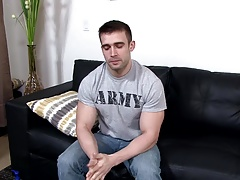 ActiveDuty Beat Off Time 4 Str8 Muscled Army Hunk