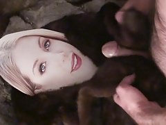 Playing with Katherine Ryan in fur
