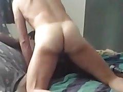 Hot black bubble ass fuck