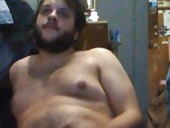 uncut hairy cub cums