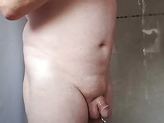 My Sexy Wifes Hubby In The Shower 1